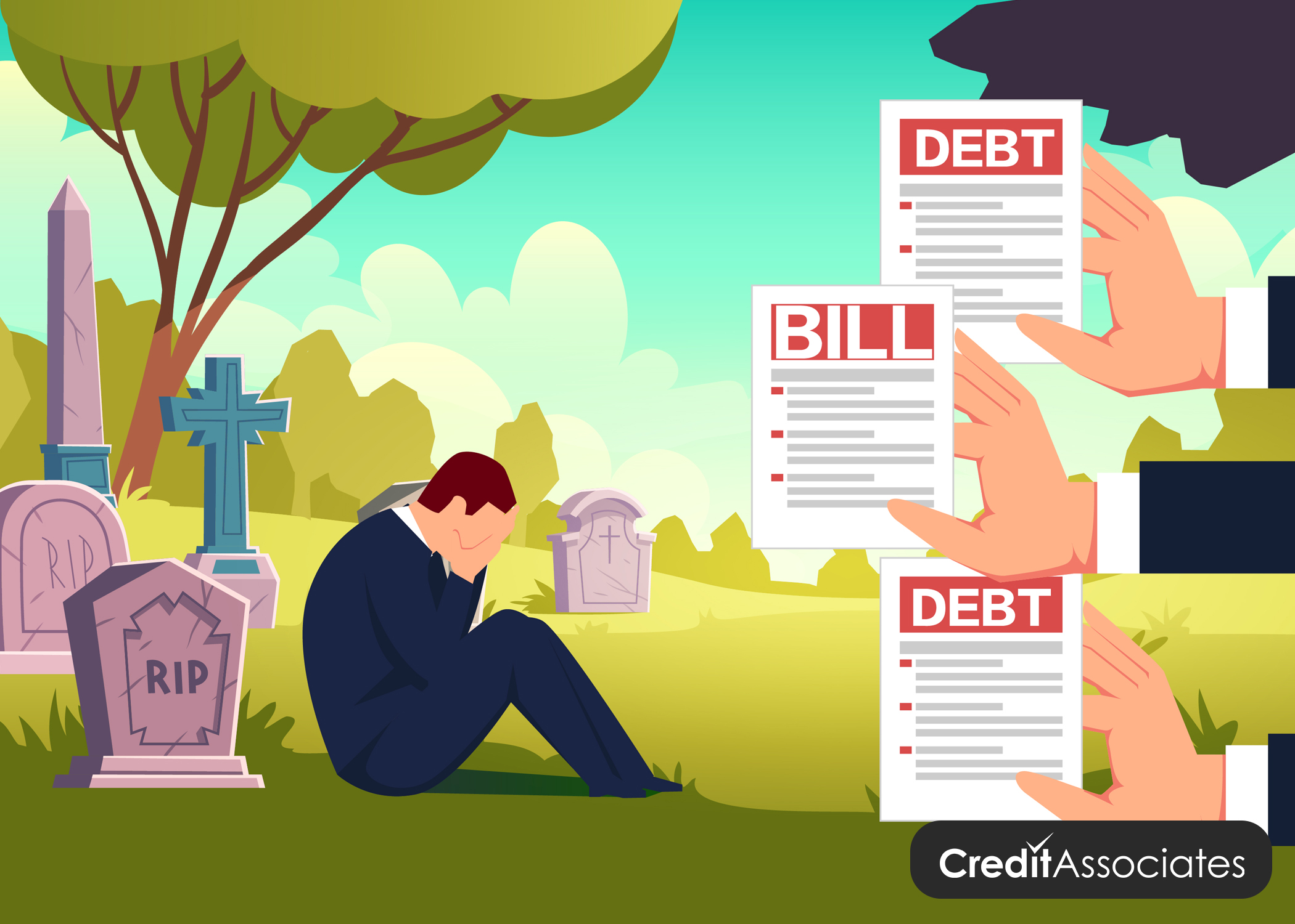What Happens to Credit Card Debt When You Die?